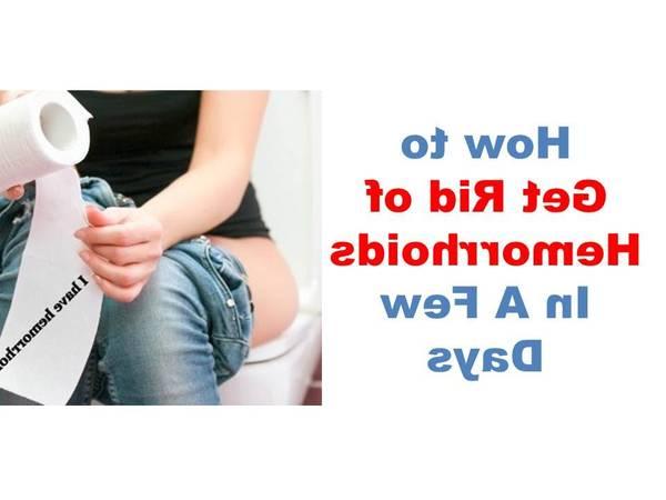 comment traiter les hemorroides